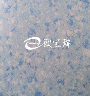 商用地板浅蓝色